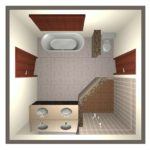 custom 3D bathroom design by Tarvin Plumbing Company