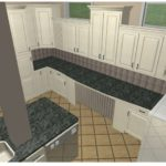 custom 3D kitchen design by Tarvin Plumbing Company