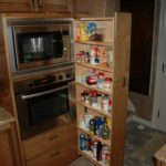 Pull Out Pantry in a new kitchen by Tarvin Plumbing